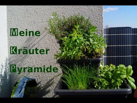 Kräuterpyramide für Terrasse und Balkon