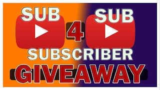 Subscriber Gift Giveaway