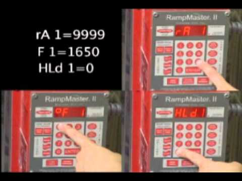 How to Program the Rampmaster Kiln Controller | Delphi Glass