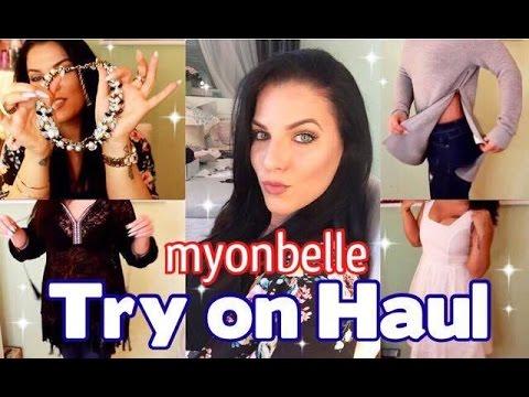 TRY ON Fashion Haul ♡ Myonbelle Unboxing