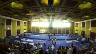 International Modern Pentathlon 2013 Qatar Foundation fencing timelapse