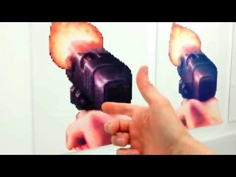 This FPS Art Exhibit Has Giant Graphics Cards, Duke Nukem's Pistol