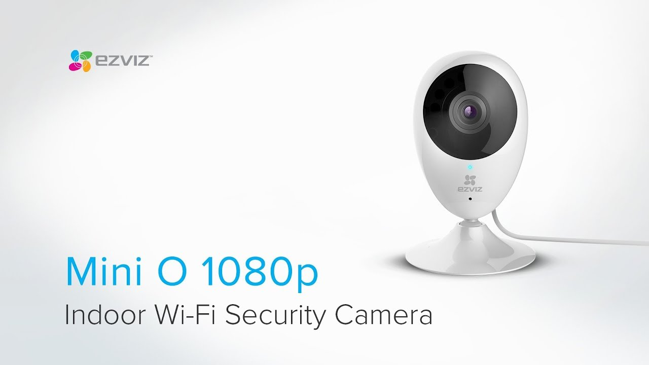 Ezviz by Hikvision C2C Mini IP Camera, 180gr, 1080p, WiFi, Mic, Speaker, Sd slot
