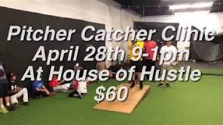 Pitcher Catcher Clinic April 28th, 2018