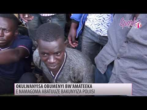 Abatuuze e Namungoona basisinkanye police ku bumenyi bwamateeka