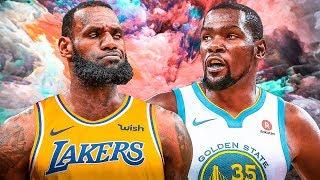 LeBron VS. Durant - The Ultimate Showdown