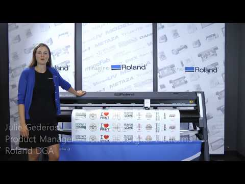 Vinyl Cutting Plotter Roland CAMM-1 GR-640, GR-540 Large Format Cutters
