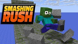 Monster School : SMASHING RUSH CHALLENGE - Minecraft Animation