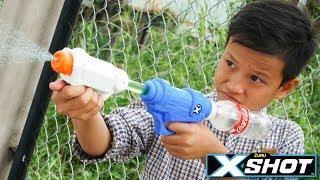 Đồ Chơi Bắn Súng Nerf Cuộc Chiến Súng Nước X-SHOT: X-SHOT GUN WATER BATTLE SHOT