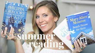 My Summer Reading List 2017 & The Benefits of Reading Fiction | My Favorite Books