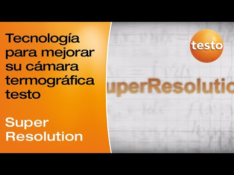 Video acerca de la tecnología SuperResolution
