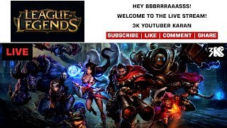 League Of Legends - Live Stream - Night With Noobs