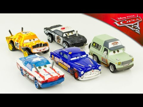 Disney Cars 3 Voitures Miniature Métal Diecast Thunder Hollow Hudson Hornet Banshee Jouet Toy Review