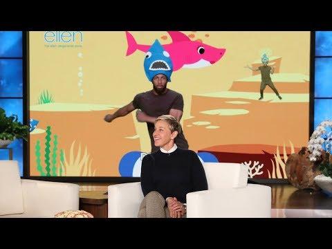 Ellen Releases Her Own 'Baby Shark' Video!