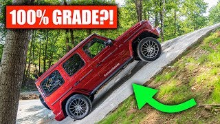Can A Mercedes G-Wagon Actually Climb A 100% Grade?