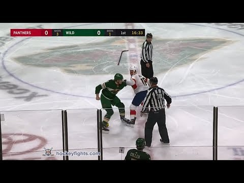 Marcus Foligno vs. Micheal Haley