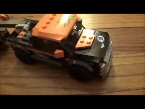 LEGO City 4×4 with Powerboat REVIEW