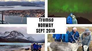 TROMSØ NORWAY VLOG | NOV 2018