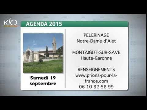 Agenda du 11 septembre 2015
