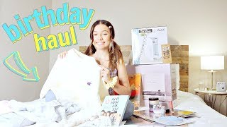 What I Got For My 14th Birthday | Birthday Haul
