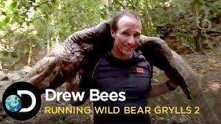 Drew Brees Kills A Crocodile |  Running Wild With Bear Grylls