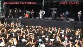 Enjambre - Dulce Soledad (Vive latino 2011)