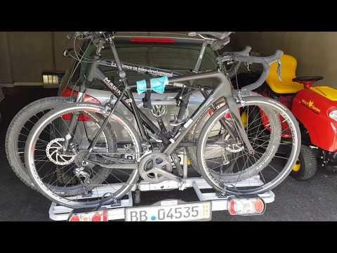 Preiswerter Fahrradträger von Eufab - Kleiner Testbericht und mein Fazit nach 7 Jahren im Einsatz