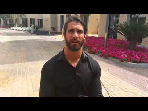 Seth Rollins fro WWEArabic.com