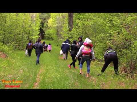 Family Go Hiking May, 21, 2017