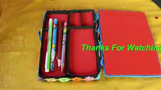 amazing-diy-pencil-box-how-to-make-pencil-case-diy-back-to-school-projects-school-supplies