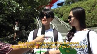 Travelers' Voice of Kyoto: KIYOMIZU DERA Area Interview004