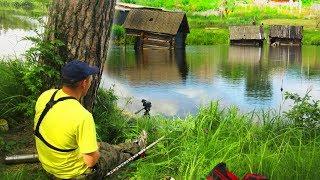 Рыбалка в заброшенных деревнях урала