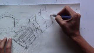 Проект зимней круглогодичной подземной теплицы термос