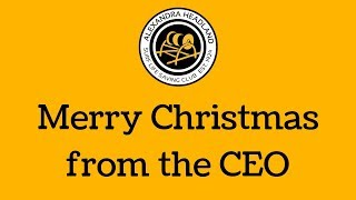 Merry Christmas from the CEO