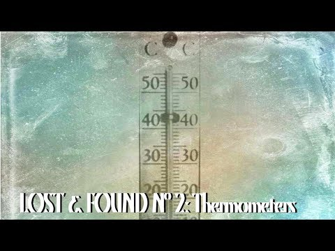 How Mercury Thermometers Were Made