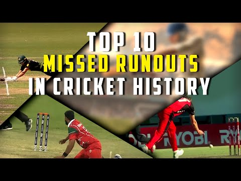 Top 10 missed Runouts in Cricket history   Simbly Chumma