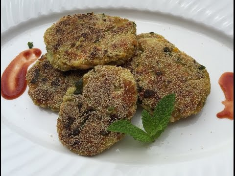 Video Mixed Veg Cutlets ~ Healthy Kids Snacks  ~ Yum Yum Yum Recipes