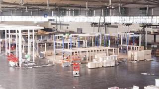 Three Weeks Of Exhibition Stand Building In Twelve Seconds