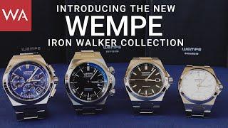 """Hands-on: New Wempe Glashütte I/SA """"Iron Walker"""" collection"""