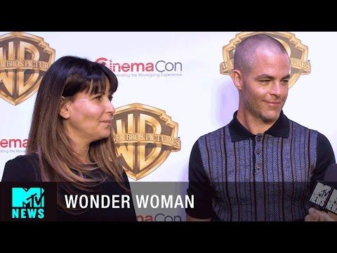Chris Pine & Patty Jenkins on 'Wonder Woman' & 'Star Trek'   CinemaCon 2017   MTV News