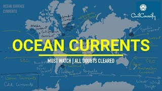 OCEAN CURRENTS || Types, Circulation Patterns, Theories, Mapping & much more