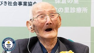New WORLD'S OLDEST MAN is 112 years old - Guinness World Records