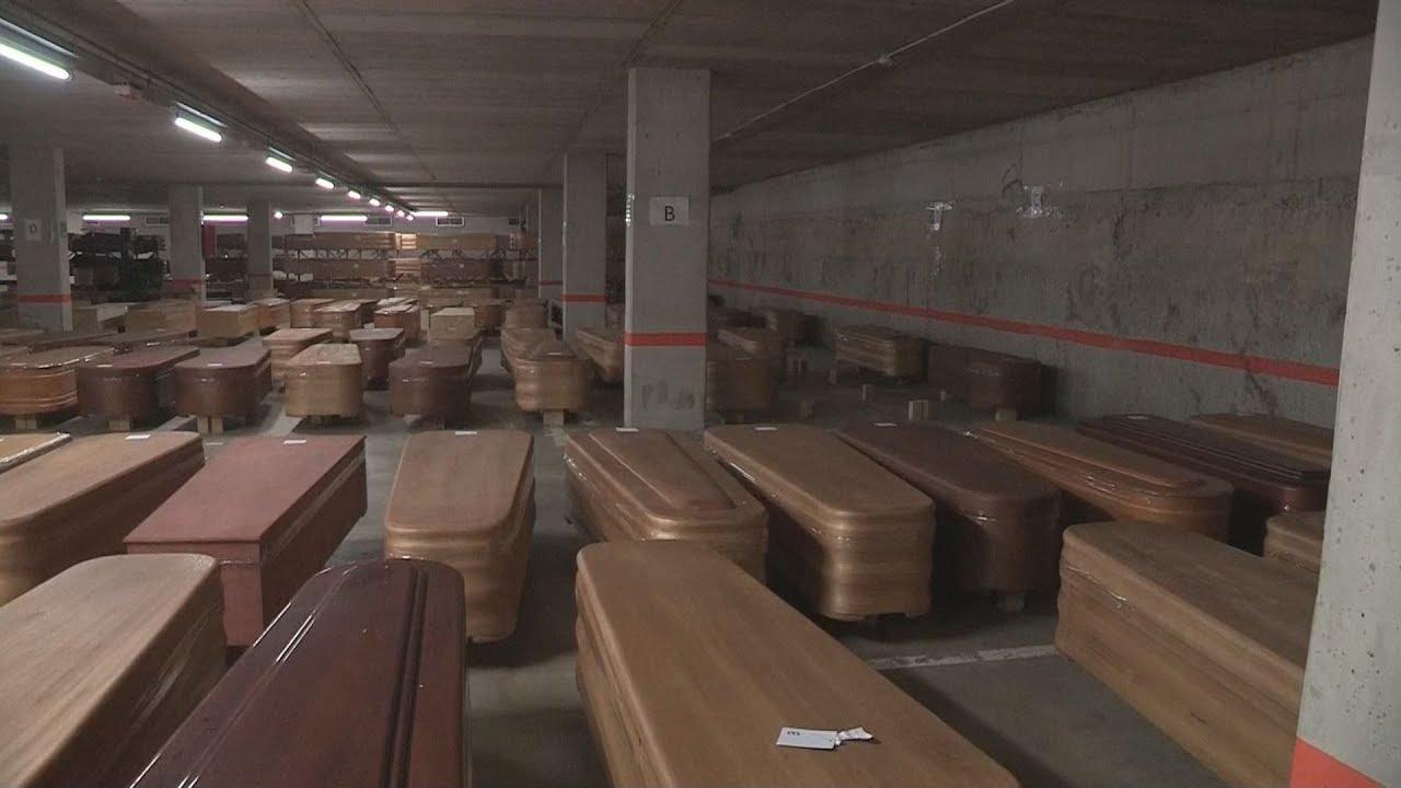 Η Βαρκελώνη μετατρέπει ένα πάρκινγκ αυτοκινήτων στο νεκροτομείο Collserola