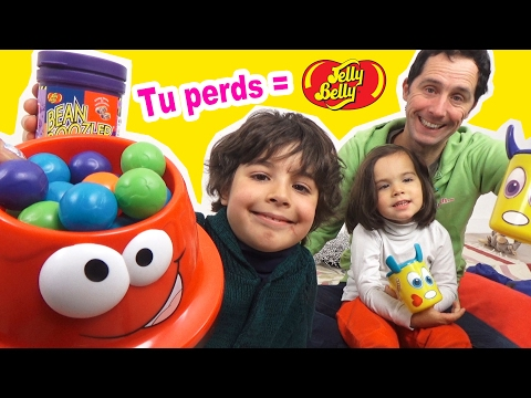 JEU GAV'GAMELLE - Si tu PERDS = JELLY BELLY BEAN BOOZLED - JEU de SOCIETE & fun en FAMILLE