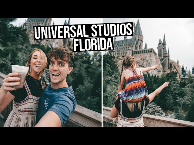 UNIVERSAL STUDIOS ORLANDO | Wizarding World of HARRY POTTER (Florida vlog)