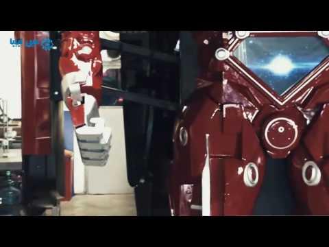 كما في أفلام الخيال العلمي.. سيارة تتحول إلى رجل آلي