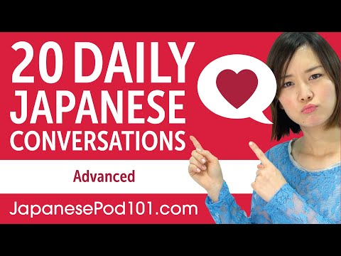 20 Daily Japanese Conversations - Japanese Practice For Advanced Learners