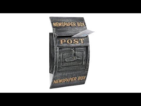 Briefkasten Antik Newspaper Box