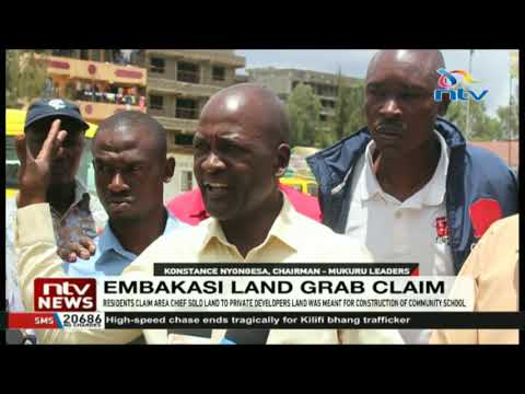 Imara Daima residents claim area chief sold community land to private developers