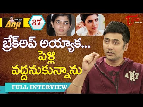 Actor Rahul Ravindran Exclusive Interview | Open Talk with Anji | #37 | Telugu Interviews